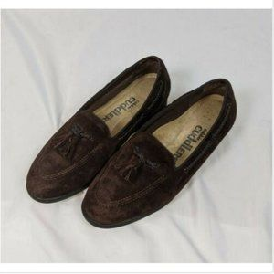Cobbie Cuddlers Brown Leather Slip On Loafers